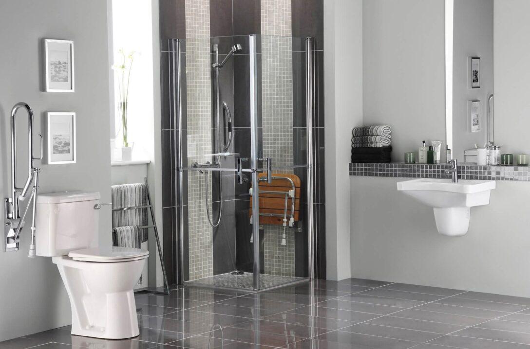 Large Size of Glastrennwand Dusche Behindertengerechtes Bad Mischbatterie Einbauen Begehbare Duschen Fliesen Für Bodengleiche Nachträglich Unterputz Armatur Raindance Dusche Behindertengerechte Dusche