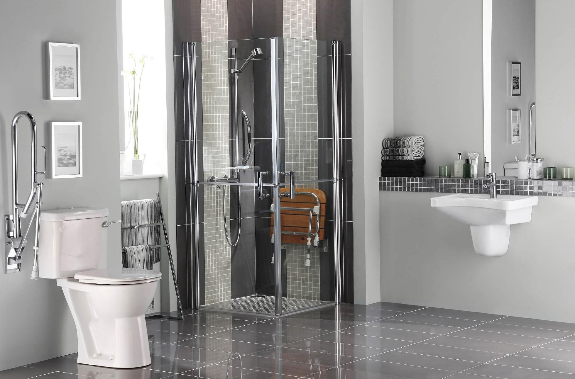 Full Size of Glastrennwand Dusche Behindertengerechtes Bad Mischbatterie Einbauen Begehbare Duschen Fliesen Für Bodengleiche Nachträglich Unterputz Armatur Raindance Dusche Behindertengerechte Dusche