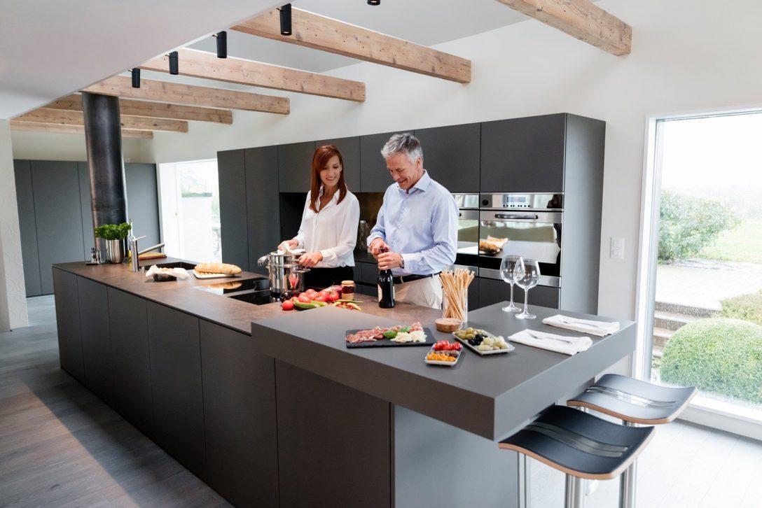 Large Size of Küchenideen Kchenidee Eleganz Modern Interpretiert Wohnzimmer Küchenideen
