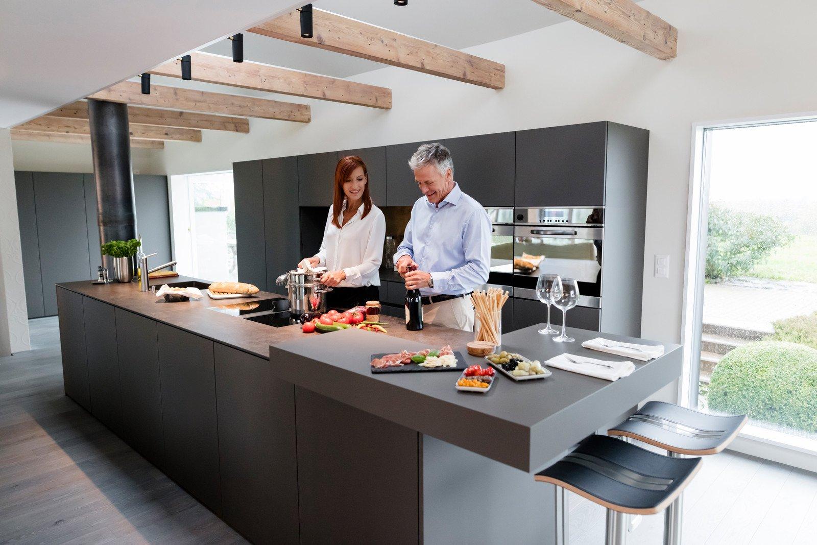 Full Size of Küchenideen Kchenidee Eleganz Modern Interpretiert Wohnzimmer Küchenideen