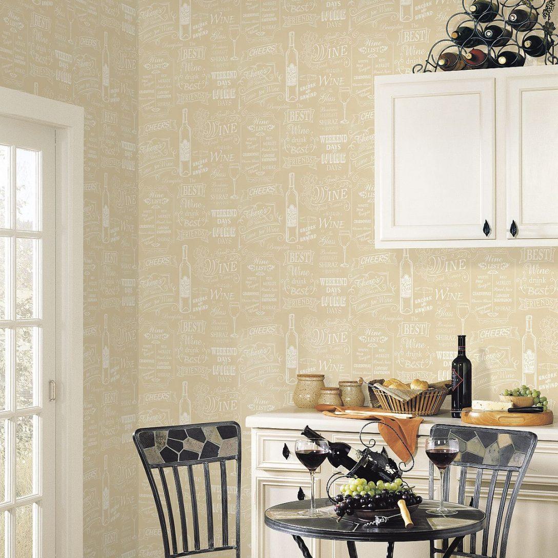 Large Size of Küchentapete Hochwertige Tapeten Und Stoffe Kchentapete Kitchen Style Wohnzimmer Küchentapete