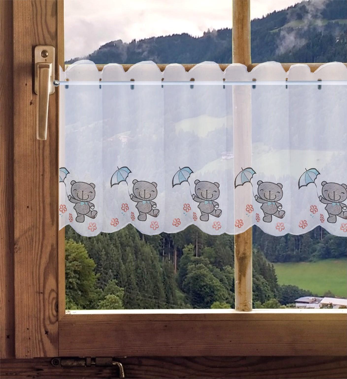 Full Size of Gardinen Welt Online Shop Bestickte Scheibengardine Teddy Kinderzimmer Regal Sofa Weiß Regale Scheibengardinen Küche Kinderzimmer Scheibengardinen Kinderzimmer