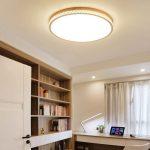 Holzlampe Decke Deckenleuchte Holz Dicke 6 Cm Led Rund Decken Badezimmer Im Bad Schlafzimmer Deckenlampe Küche Deckenleuchten Tagesdecken Für Betten Lampe Wohnzimmer Holzlampe Decke