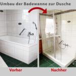 Ebenerdige Dusche Kosten Aus Ihrer Alten Badewanne Wird Ein Gerumiges Duschvergngen Eckeinstieg Rainshower Unterputz Armatur Neues Bad Bodengleiche Begehbare Dusche Ebenerdige Dusche Kosten