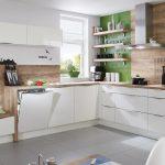 Küchen Wandregal Kchen Wei Hcker Musterkche Schne Kche In U Form Bad Küche Landhaus Regal Wohnzimmer Küchen Wandregal
