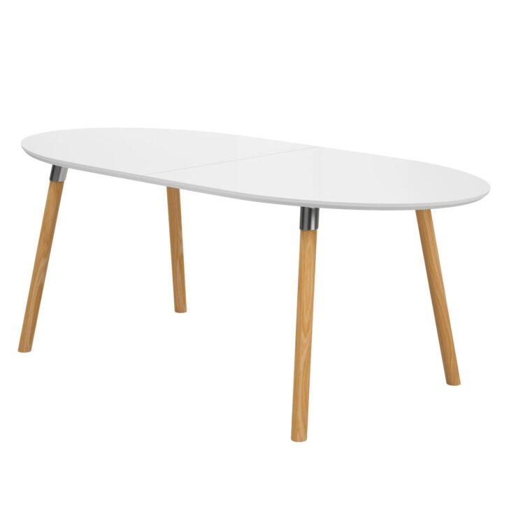 Medium Size of Esstisch Oval Weiß Becky Mit Ausziehfunktion Wei Eiche Home24 2m Bett 200x200 Lampen 160 Ausziehbar 4 Stühlen Günstig Sofa Für Esstische Esstischstühle Esstische Esstisch Oval Weiß
