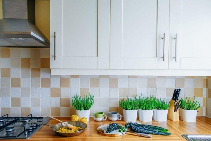 Medium Size of Schne Kchenrckwnde 4 Alternativen Zum Fliesenspiegel Bad Renovieren Ideen Wohnzimmer Tapeten Wohnzimmer Küchenrückwand Ideen