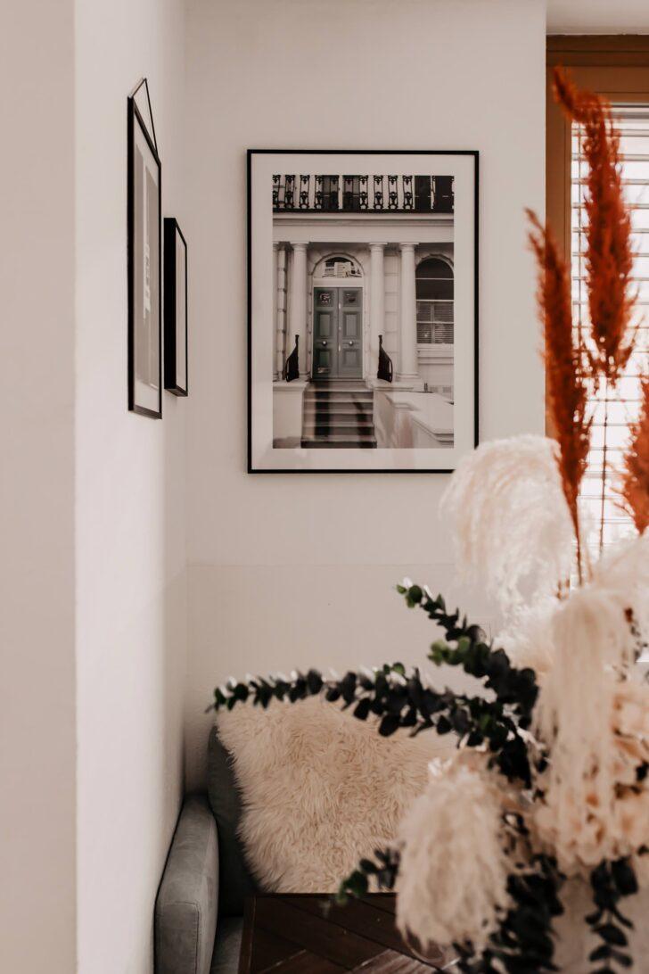 Medium Size of Wandgestaltung Küche Mit Bildern Meine Ideen Fr Kche Und Wohnzimmer Möbelgriffe Deko Für Mülltonne Armatur Hängeschrank Tapete Ausstellungsstück Weisse Wohnzimmer Wandgestaltung Küche