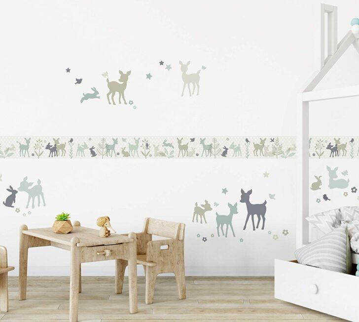 Medium Size of Lovely Label Bordre Selbstklebend Hschen Rehe Mint Grau Beige Regale Kinderzimmer Regal Sofa Weiß Kinderzimmer Bordüren Kinderzimmer