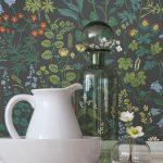 Küchentapeten English Country Cottage Tapetentrends Lookbook Tapeten Der 70er Wohnzimmer Küchentapeten