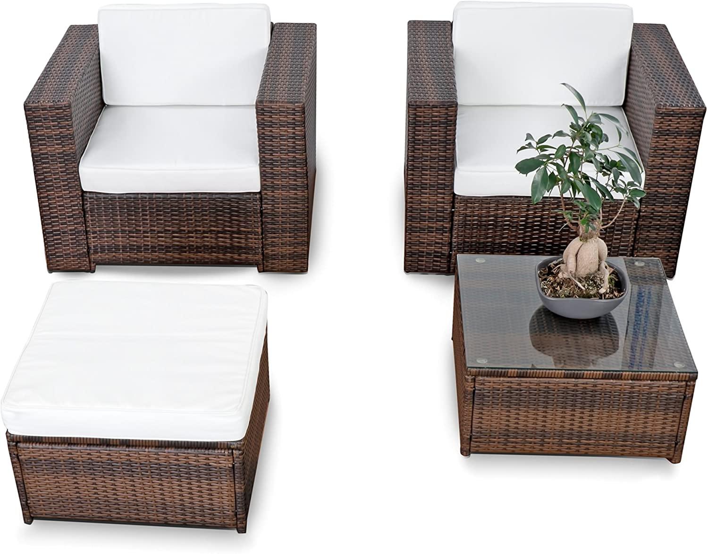 Full Size of Loungemöbel Balkon Xinro Xxl Polyrattan Lounge Set Erweiterbar Garten Holz Günstig Wohnzimmer Loungemöbel Balkon
