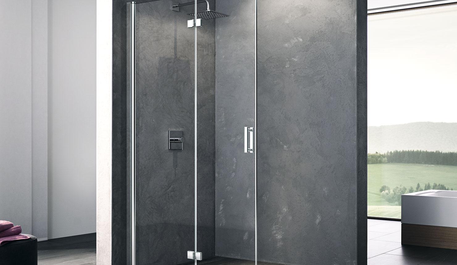 Full Size of Walk In Duschkabine Serienmodelle Exakt Auf Ma Kermi Badewanne Mit Tür Und Dusche Unterputz Armatur Glasabtrennung Grohe Bluetooth Lautsprecher Abfluss Bidet Dusche Glasabtrennung Dusche
