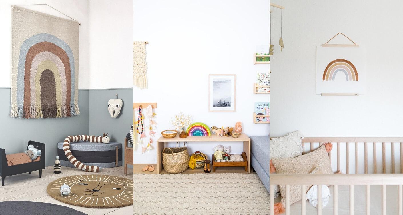 Full Size of Kinderzimmer Wanddeko Deko Frs Babyzimmer Schnsten Regenbogenmotive Sofa Küche Regal Regale Weiß Kinderzimmer Kinderzimmer Wanddeko