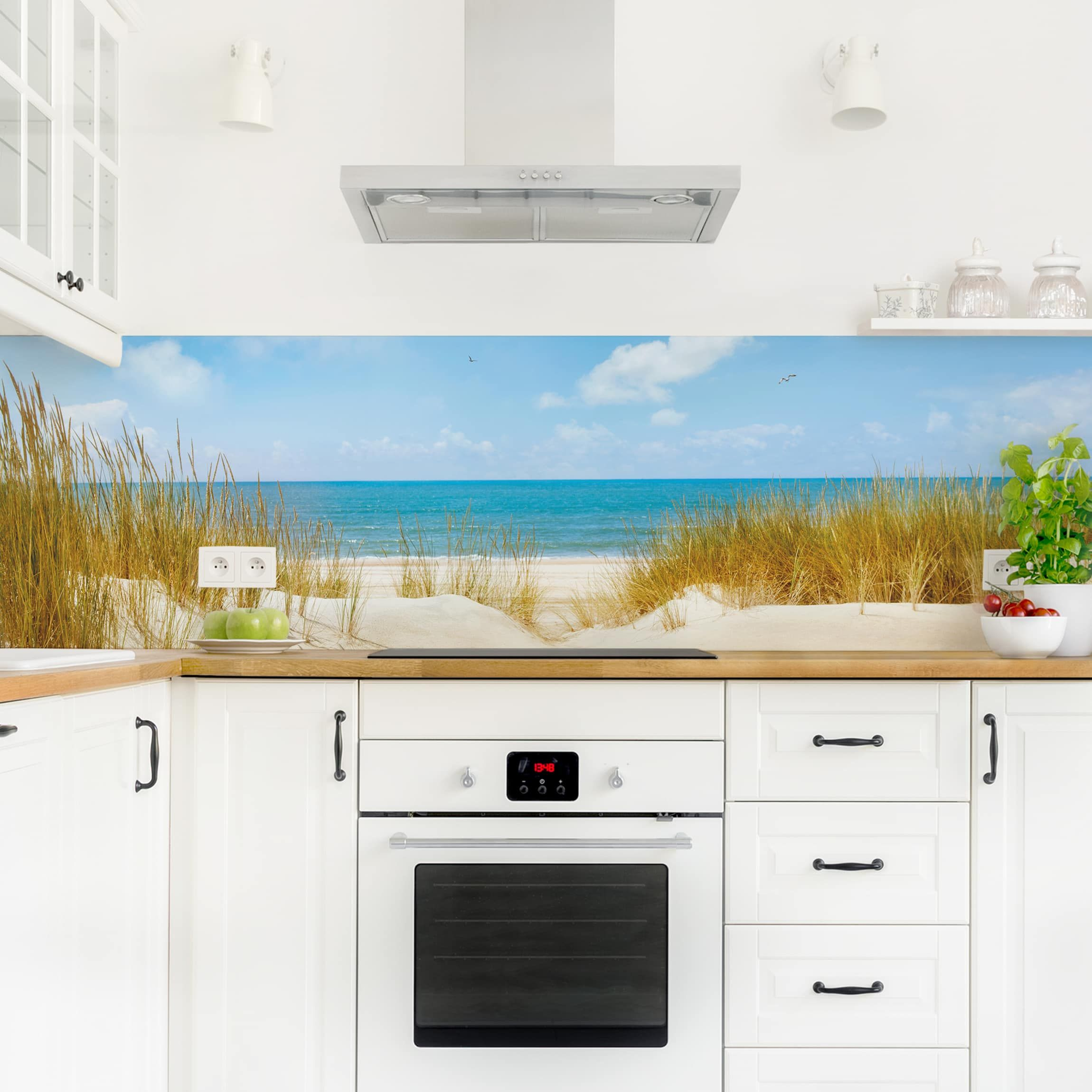 Full Size of Kchenrckwand Strand An Der Nordsee In 2020 Haus Interieurs Wohnzimmer Tapeten Ideen Bad Renovieren Wohnzimmer Küchenrückwand Ideen