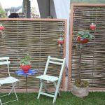 Garten Paravent Bauhaus Selber Bauen Metall Weide Polyrattan Wohnzimmer Paravent Terrasse