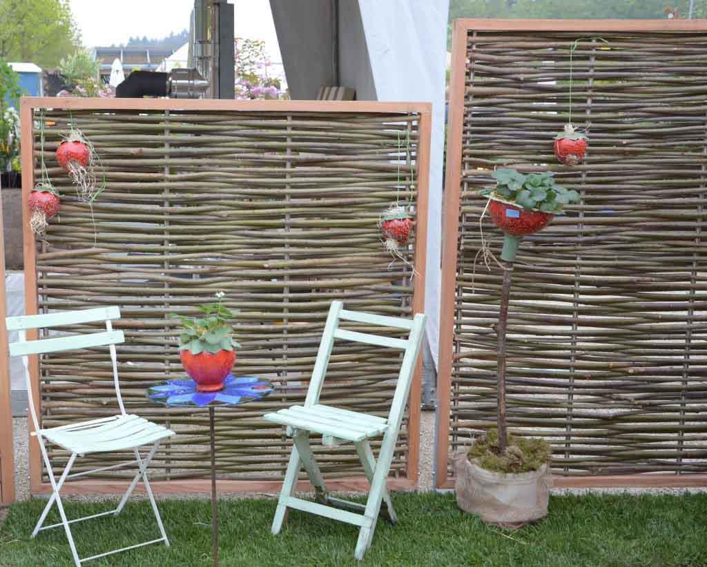 Full Size of Garten Paravent Bauhaus Selber Bauen Metall Weide Polyrattan Wohnzimmer Paravent Terrasse