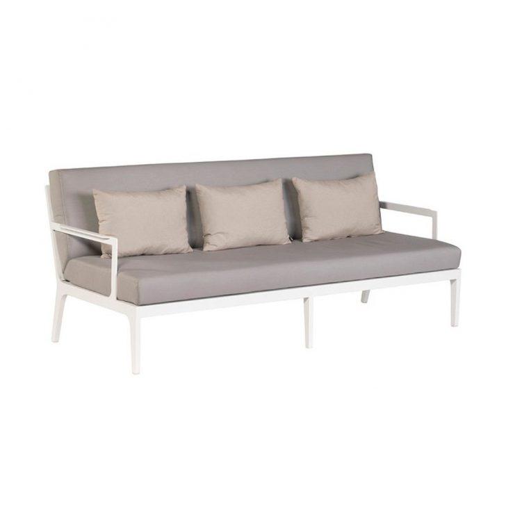 Medium Size of Outdoor Sofa Wetterfest Ikea Lounge Couch Gartensofa Sevilla 3 Sitzer Wei Taupe Exotan Led Sitzhöhe 55 Cm Rund Karup Kare Walter Knoll 2er Hussen Big Günstig Wohnzimmer Outdoor Sofa Wetterfest