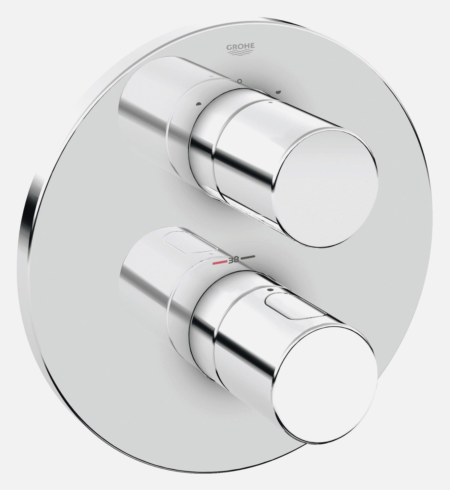 Full Size of Grohe Thermostat Dusche 90x90 Nischentür Glastrennwand Ebenerdige Kosten Anal Komplett Set Einbauen 80x80 Mischbatterie Schulte Duschen Hüppe Bluetooth Dusche Grohe Thermostat Dusche