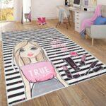 Kinderzimmer Teppich Flachgewebe Streifen Teppichcenter24 Regal Weiß Wohnzimmer Teppiche Sofa Regale Kinderzimmer Kinderzimmer Teppiche