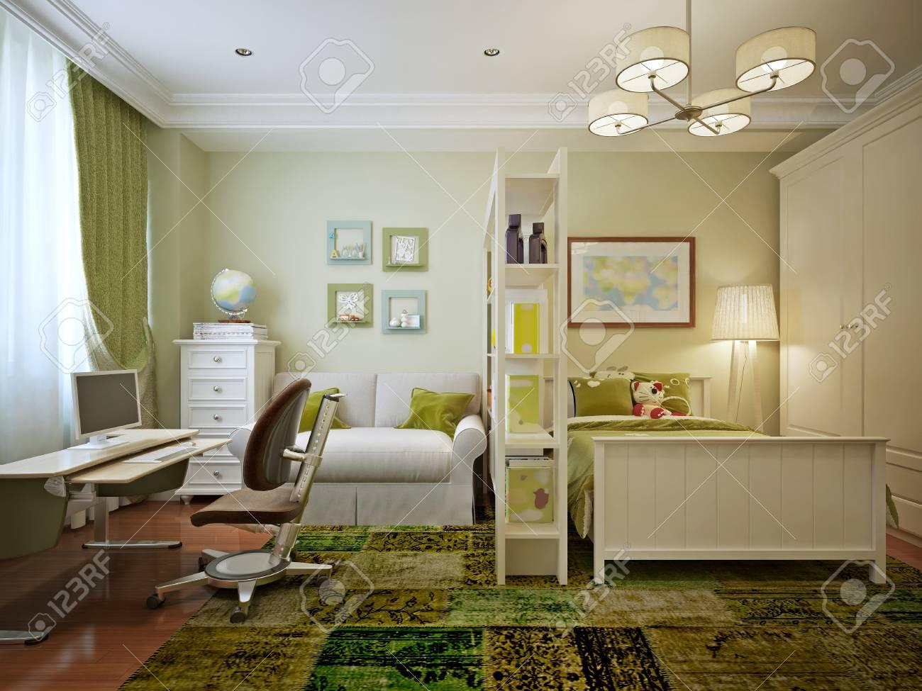 Full Size of Jungen Fr Einen In Einem Stil 3d Regal Weiß Regale Sofa Kinderzimmer Jungen Kinderzimmer