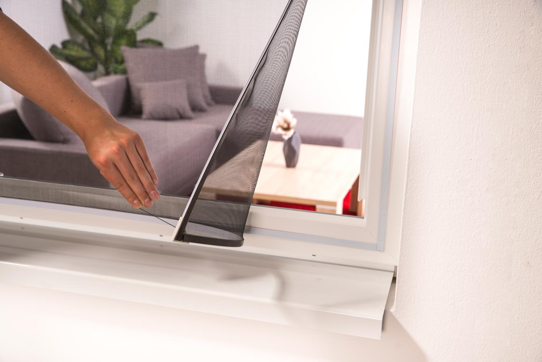 Full Size of Fliegengitter Fenster Zebra Easy Spannrahmen Magnet 130 150 Cm Magnettafel Küche Für Maßanfertigung Wohnzimmer Fliegengitter Magnet