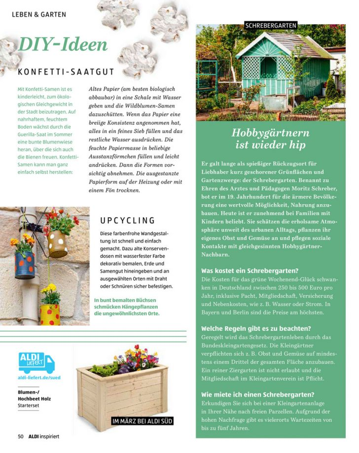 Medium Size of Aldi Sd As Inspiriert 0220 Web Neu Seite 58 59 Garten Hochbeet Relaxsessel Wohnzimmer Hochbeet Aldi
