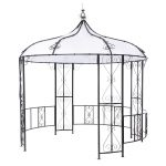 Gartenpavillon Metall Wohnzimmer Gartenpavillon Metall Tepro Pavillon Rowa 3m Regal Weiß Bett Regale