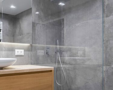 Fliesen Für Dusche Dusche Fliesen Für Dusche Beton Ist In Der Beliebt Groformatigen Grohe Thermostat Wandfliesen Küche Bodenfliesen Badewanne Mit Walk Bodengleiche Nachträglich