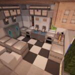 Minecraft Küche Wohnzimmer Minecraft Kitchen Ideas 04 Avec Images Maison Mischbatterie Küche Teppich Industrial Klapptisch L Mit E Geräten Weiß Matt Miniküche Lieferzeit Vorhang