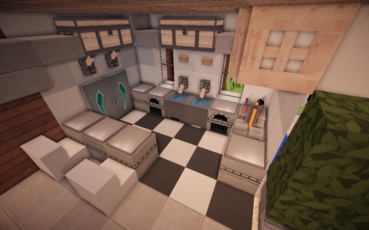 Full Size of Minecraft Kitchen Ideas 04 Avec Images Maison Mischbatterie Küche Teppich Industrial Klapptisch L Mit E Geräten Weiß Matt Miniküche Lieferzeit Vorhang Wohnzimmer Minecraft Küche