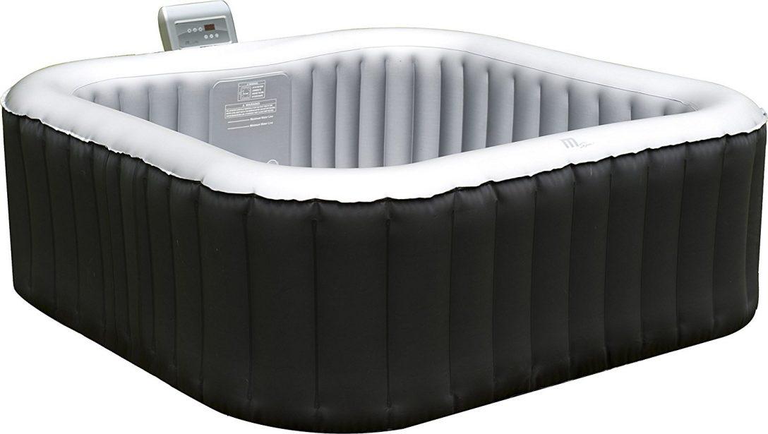 Large Size of Whirlpool Aufblasbar Aufblasbarer Spa 158x158cm Im Test Garten Wohnzimmer Whirlpool Aufblasbar