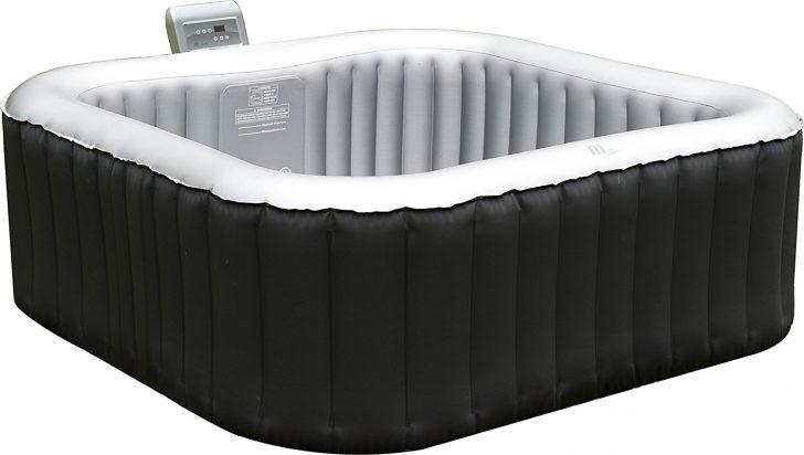 Medium Size of Whirlpool Aufblasbar Aufblasbarer Spa 158x158cm Im Test Garten Wohnzimmer Whirlpool Aufblasbar