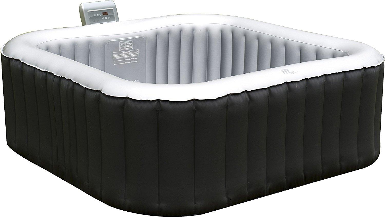 Full Size of Whirlpool Aufblasbar Aufblasbarer Spa 158x158cm Im Test Garten Wohnzimmer Whirlpool Aufblasbar