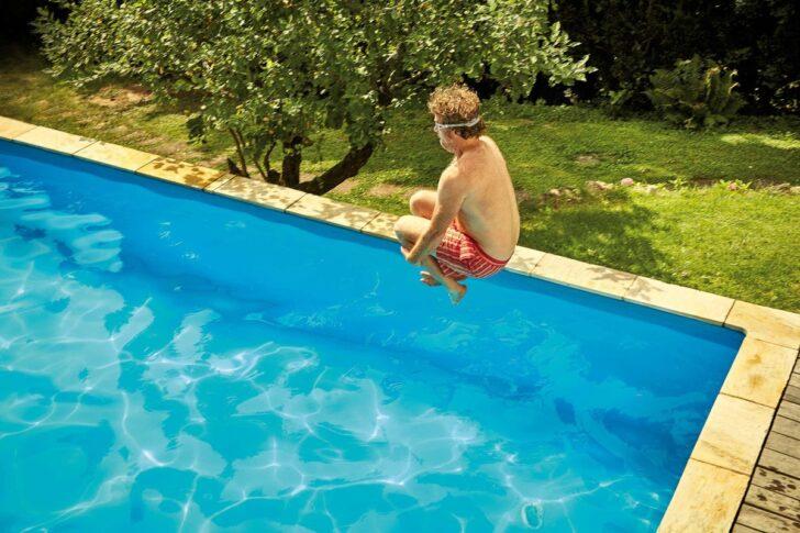 Medium Size of Pool Selber Bauen Welcher Ist Der Richtige Hornbach Küche Bett 140x200 Bodengleiche Dusche Nachträglich Einbauen Schwimmingpool Für Den Garten Regale Wohnzimmer Pool Selber Bauen
