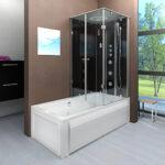 Badewanne Mit Dusche Dusche Badewanne Mit Dusche Paket Acquavapore Dtp50 A304l Wanne Duschtempel Wand Sofa Recamiere Abnehmbaren Bezug Begehbare Duschen Esstisch Stühlen Verstellbarer