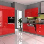 Kche Vario Iii 240 160 Cm Kchenzeile In Hochglanz Rot Einbauküche Gebraucht Magnettafel Küche Wellmann Schmales Regal Griffe Sprüche Für Die Was Kostet Wohnzimmer Küche