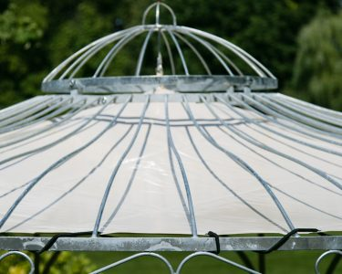 Gartenpavillon Metall Wohnzimmer Sonnenschutz Fr Gartenpavillon Metall Eleganz 350cm Regal Regale Bett Weiß