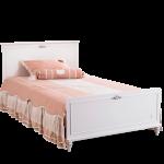 Stauraumbett 120x200 Wohnzimmer Stauraumbett 120x200 Cilek Romantica Bett Mit Bettkasten Matratze Und Lattenrost Weiß Betten
