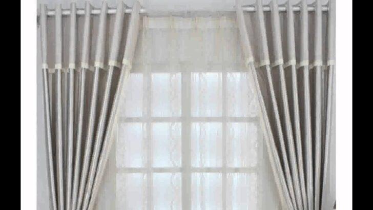 Medium Size of Moderne Gardinen Wohnzimmer Inspiration Youtube Led Deckenleuchte Kamin Indirekte Beleuchtung Scheibengardinen Küche Schrankwand Lampen Pendelleuchte Fenster Wohnzimmer Wohnzimmer Gardinen