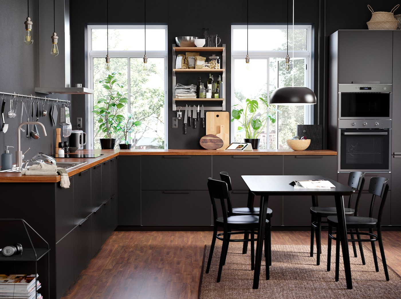 Full Size of Ikea Küchen Kcheneinrichtung Fr Offene Kchen Deutschland Sofa Mit Schlaffunktion Betten 160x200 Küche Kosten Kaufen Regal Modulküche Miniküche Bei Wohnzimmer Ikea Küchen