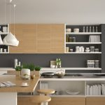 Küche Hellgrau Graue Kchen Kchendesignmagazin Lassen Sie Sich Inspirieren Blende Holzregal Bauen Wanddeko Ikea Miniküche Vorhang Kaufen Günstig Betonoptik Wohnzimmer Küche Hellgrau