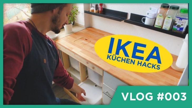 Medium Size of Ikea Hacks Küche Diy Fr Kche Youtube Doppel Mülleimer Landhausküche Weiß Segmüller Salamander Eckschrank Blende Lampen Eckküche Mit Elektrogeräten Eiche Wohnzimmer Ikea Hacks Küche