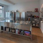 Edelstahl Küche Edelstahlkche Bilder Ideen Couch Erweitern Edelstahlküche Gebraucht Ausstellungsküche Sockelblende Fliesenspiegel Sonoma Eiche Outdoor Wohnzimmer Edelstahl Küche
