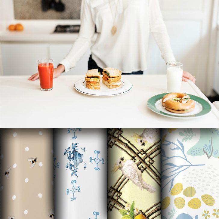 Medium Size of Küchentapeten Kuechen Tapete Grflich Mnstersche Manufaktur Wohnzimmer Küchentapeten