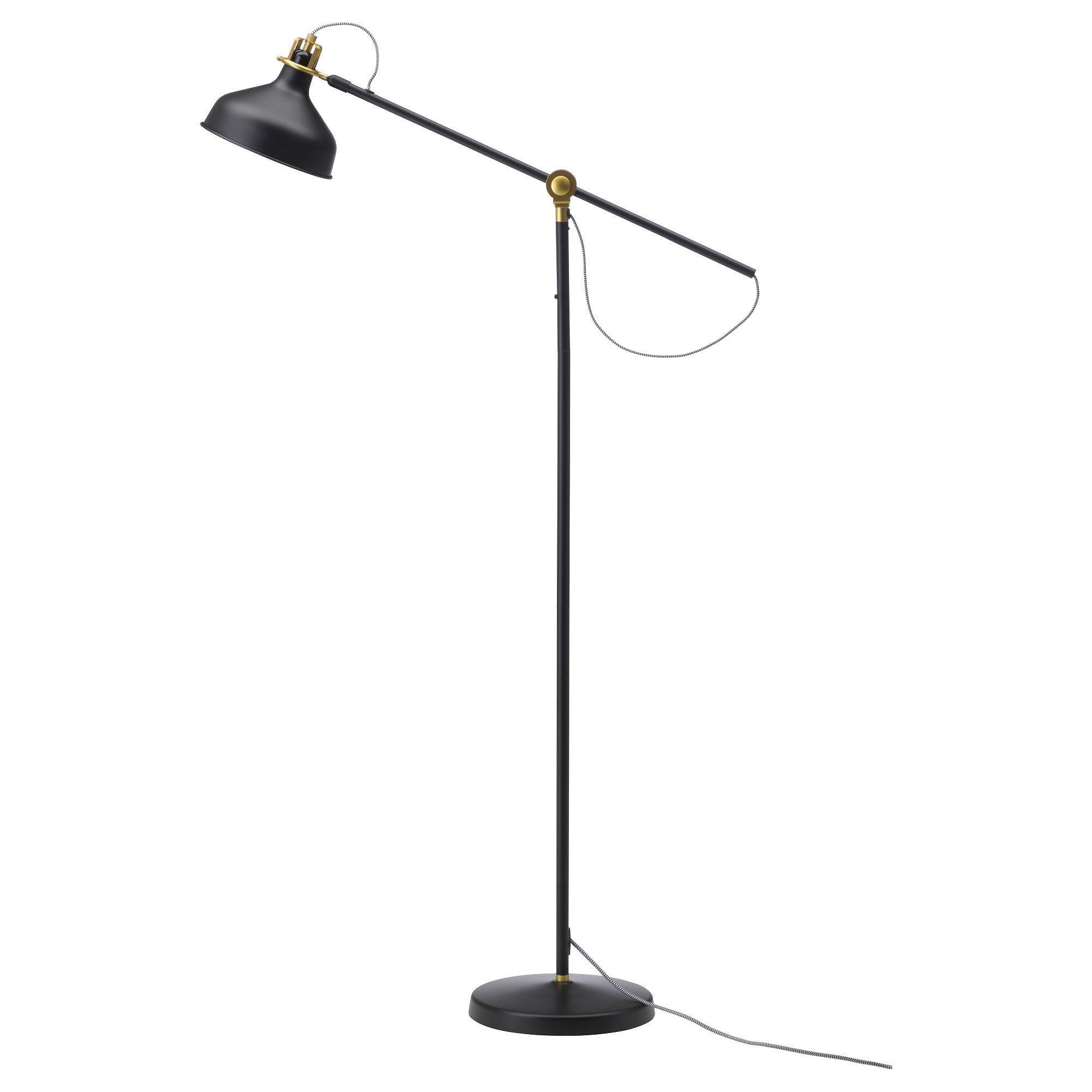 Full Size of Ikea Stehlampe Stehlampenschirm Hektar Deckenfluter Stehlampen Wohnzimmer Papier Schirm Led Ranarp Floor Reading Lamp Black Genial Küche Kosten Kaufen Wohnzimmer Ikea Stehlampe