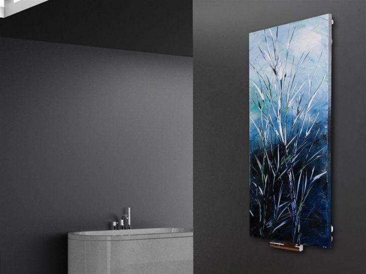 Medium Size of Wandheizung Vernissage Design 63 Blue Gras Wohnzimmer Wandheizkörper