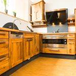 Holzküchen Wohnzimmer