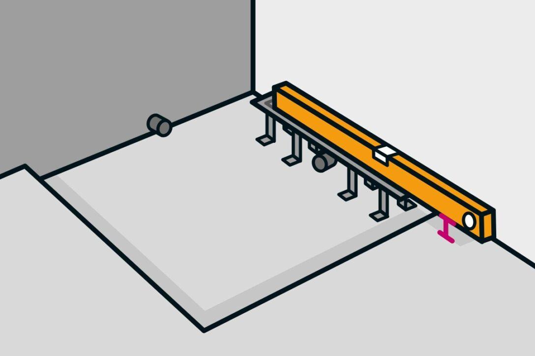 Large Size of Bodengleiche Dusche Einbauen Linienentwsserung Anleitung Von Haltegriff Nischentür Nachträglich Bodenebene Mischbatterie Fliesen Begehbare Siphon Unterputz Dusche Bodengleiche Dusche Einbauen