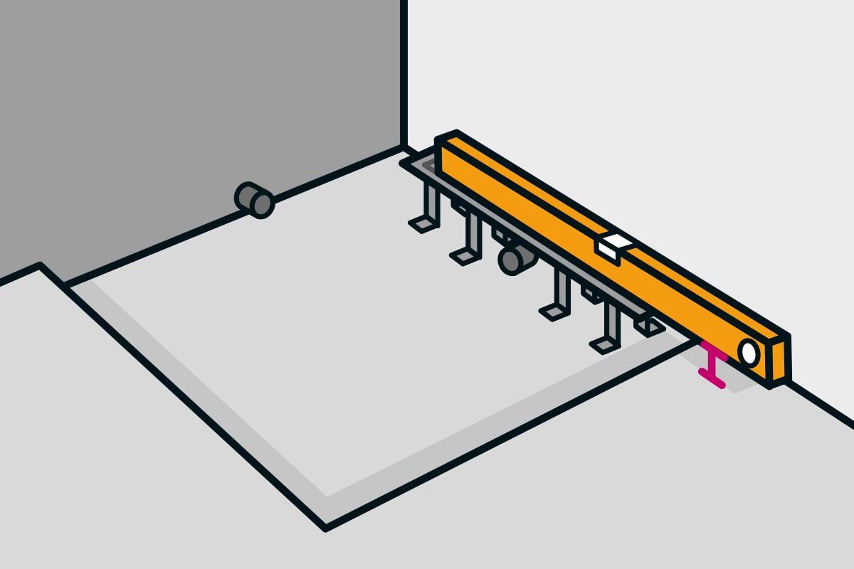 Full Size of Bodengleiche Dusche Einbauen Linienentwsserung Anleitung Von Haltegriff Nischentür Nachträglich Bodenebene Mischbatterie Fliesen Begehbare Siphon Unterputz Dusche Bodengleiche Dusche Einbauen