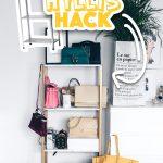 Ikea Hyllis Hack Meine Diy Taschen Aufbewahrung Im Ankleideraum Küche Kosten Betten Bei Miniküche Kaufen 160x200 Sofa Mit Schlaffunktion Modulküche Wohnzimmer Ikea Hacks